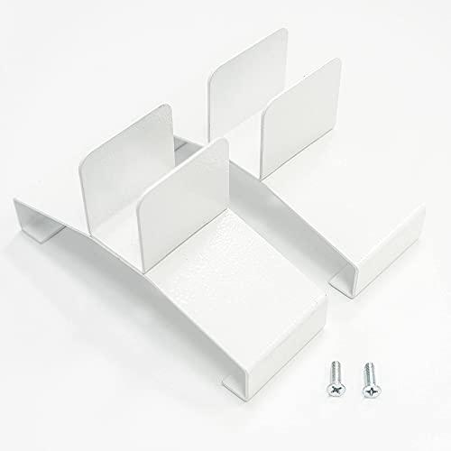 VASNER Standfüße für Infrarotheizung – geeignet für die Hybridserien Konvi & Konvi Plus, für sicheren Stand & mobilen Elektroheizung Einsatz, Metall mit Pulverbeschichtung (Weiß)
