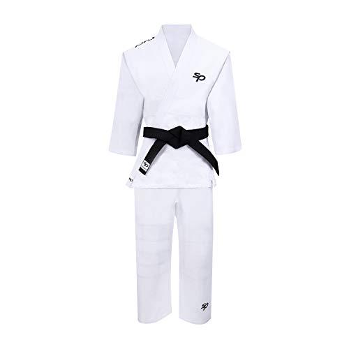 Starpro | Kinder Judo Kampfsport Anzug | Geeignet als Karate Kostüm Kinder, Karateanzug Kinder weiß, Taekwondo Anzug Kinder, Karate Anzug Kinder weiß, Judo Anzug für Kinder, Jujitsu Anzug Kinder