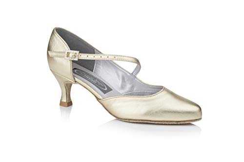 Freed of London Damen Venus Tanzschuh, Gold, 39 EU