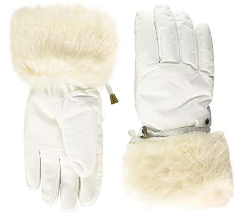 Barts Unisex Empire Skigloves Handschuhe, Weiß (White 0010), Medium