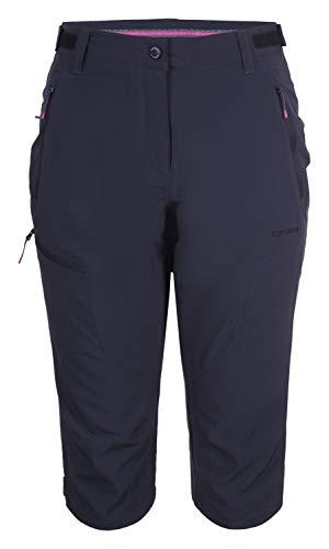 Icepeak Shaina Stretch Capri Trousers Women 54114 522 I Größe 36 290 Anthracite