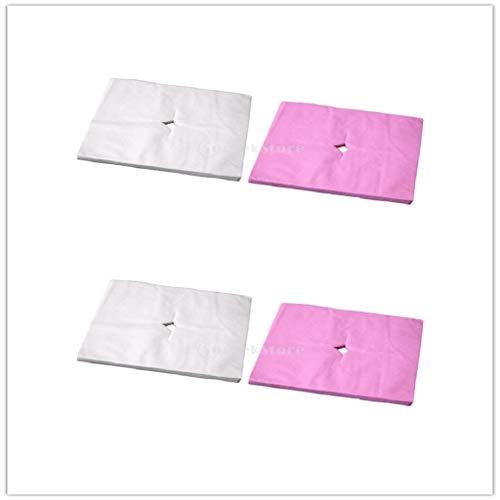 chiwanji 400 Stück Einweg Akupunktur Gesichtsauflage Cradle Kissenbezüge für Spa Kissen