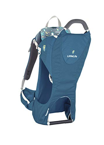 LittleLife Unisex-Adult Ranger S2 Child Carrier, Blue Kindertrage, blau, One Size