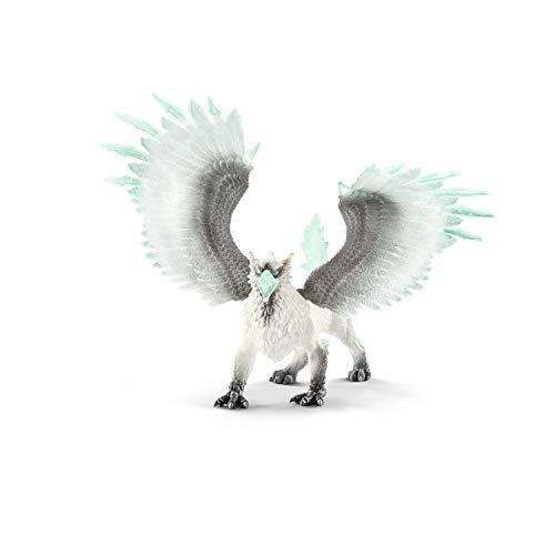 Schleich 70143 Eldrador Creatures Spielfigur - Eisgreif, Spielzeug ab 7 Jahren