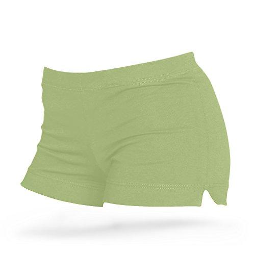Shepa Damen Kurze Fitness Shorts Hot Pants Hose S Olive
