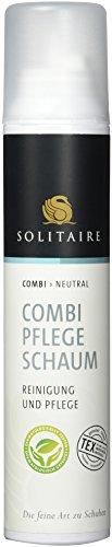 SOLITAIRE, Combi Pflege Schaum Reinigung und Pflege für alle Materialien, 200 ml