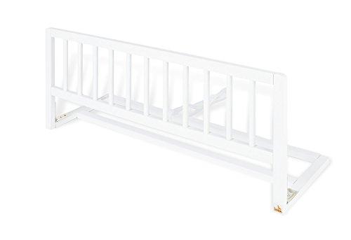 Pinolino 172418 Bettschutzgitter, 90 x 33 x 36 cm, weiß