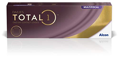 Alcon Dailies Total 1 Multifocal Tageslinsen weich, 30 Stück / BC 8.6 mm / DIA 14.1 mm / ADD LOW / -3 Dioptrien