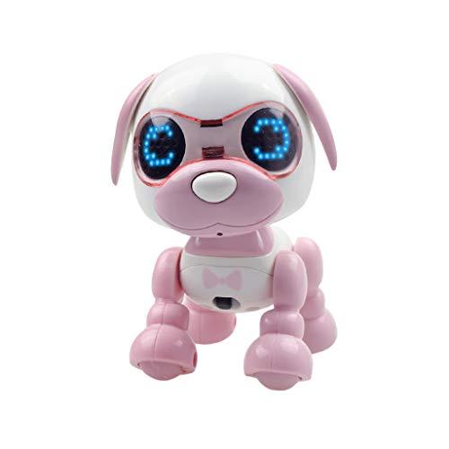 LEEDY Mini Elektronische Haustiere Roboter Interaktive Smart Puppy Roboter Hund LED Augen Tonaufnahme Singen, Aufnehmen, Geburtstagsgeschenk Roboter Spielzeug für Jungen Mädchen