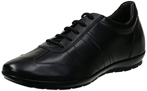 Geox Herren UOMO SYMBOL B, Black, 47 EU