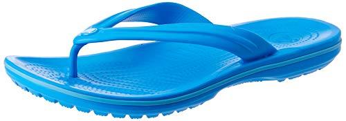 crocs Unisex-Erwachsene Crocband Flip Flop Zehentrenner, Blau (Ocean/Electric Blue), 41/42 EU
