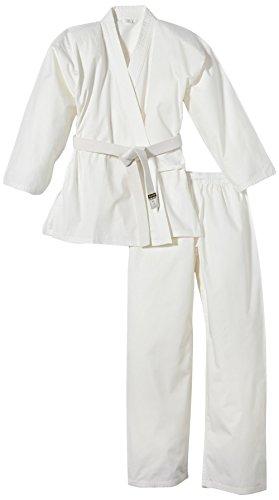 Kwon Kinder Kampfsportanzug Karate Basic, weiß, 110cm, 551000110