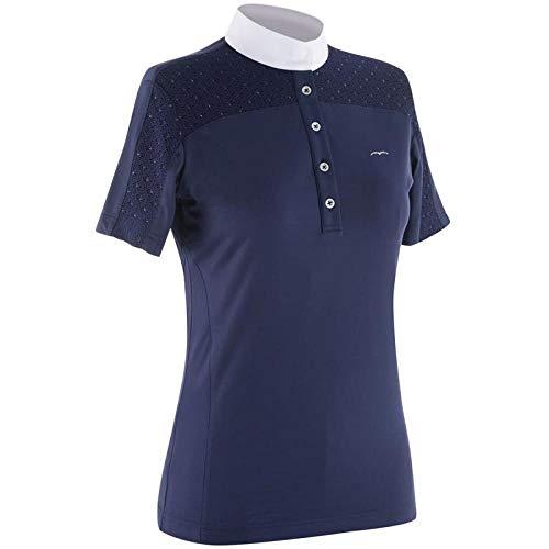 Animo Equitazione BOSTI Damen-Poloshirt mit kurzen Ärmeln.