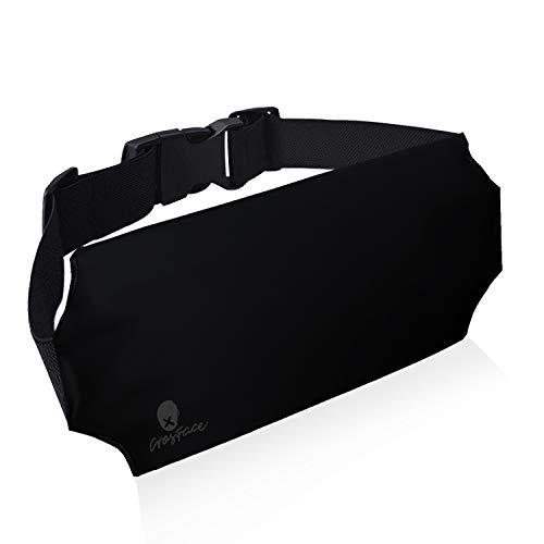 CrosFace Universelle wasserdichte Tasche Hüfttasche (iPhone 12/11/8/7/6/X/SE/XR/XS/Max/Pro, Samsung Galaxy S20/S10/S9/S8). Schützender Handy Bauchtasche zum Schwimmen, Wandern, Kanufahren