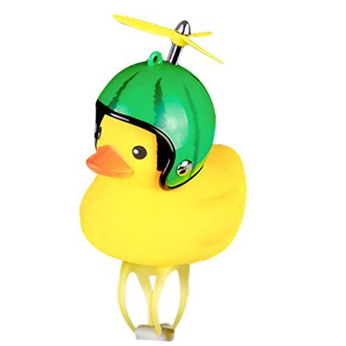 Gelbe Ente Fahrradklingel Kinder Cartoon Ente Farrhad Bell Tier Fahrradhupe Gummiente Klingel Fahrrad Niedliche Fahrradglocke Fahrradzubehör für Kleinkinder, Kinder, Erwachsene, Sport, Outdoor (J)