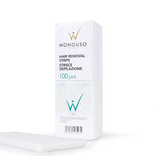 100 St. Vliesstreifen 20 x 7cm für die Depilation mit Warmwachs oder Zuckerwachs von ITALWAX