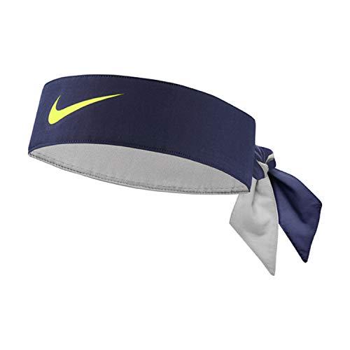 Nike Unisex– Erwachsene Dry-Fit Stirnband, Blau, One Size