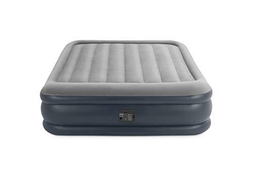 Intex Deluxe Pillow Rest Raised Luftbett - Queen - 152 x 203 x 42 cm - Mit eingebaute elektrische Pumpe