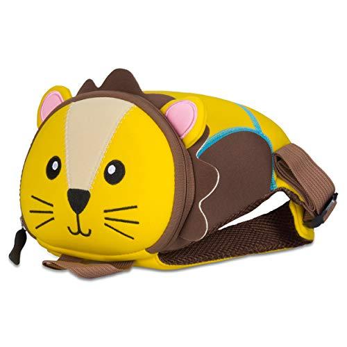 Kinderrucksack für Kleinkinder Kindergarten Rucksack für Kinder Backpack Schultasche Tier-Rucksäcke 2-6 Jahre Wasserfest, Leichtgewichtig, ergonomische Träger und extrem Robust (Löwe)