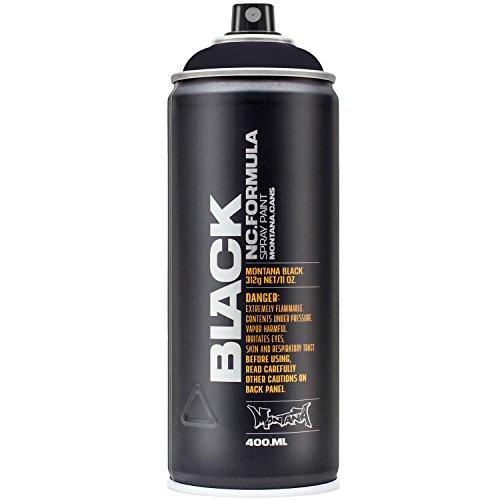 Montana BLACK Sprühdose CAN, 400 ml Black