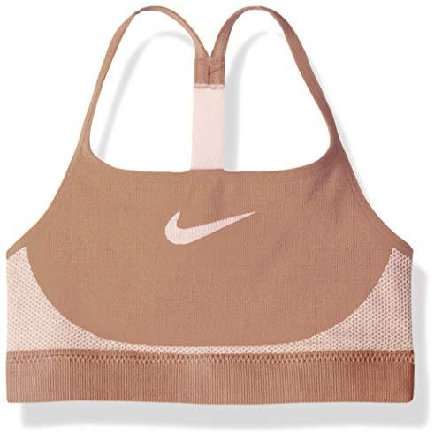 Nike Mädchen Seamless BH, Rose Gold/Pink Foam, M
