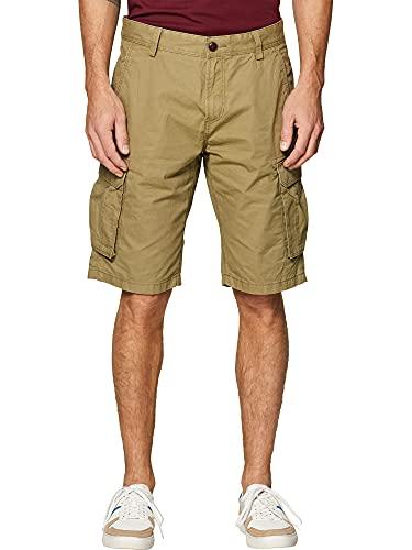 ESPRIT Herren 999EE2C802 Shorts, Grün (Olive 360), 36 W