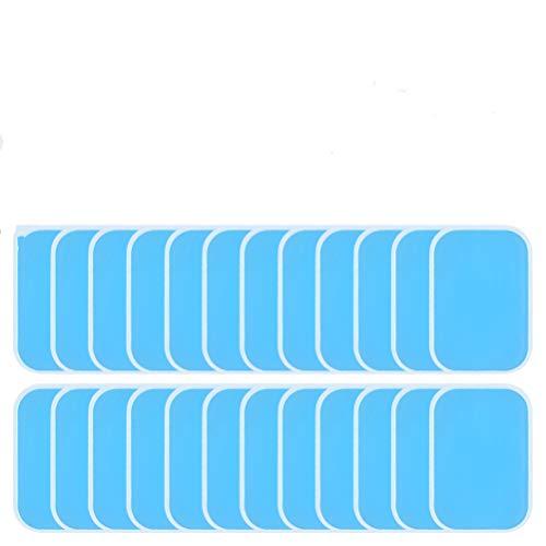 """""""N/A"""" 48 EMS Gel Pad Gels Pad für EMS Trainer Bauchtrainer Elektrische Muskelstimulation, Abs Trainer Ersatz Gel Blatt Ersatz Pad, 48 Blatt Gel EMS Pad (2 Stück/Beutel)"""