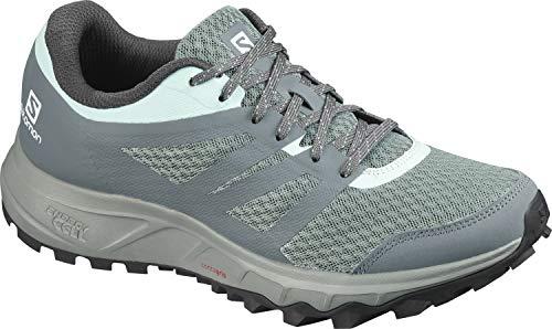 Salomon Damen Trail Running Schuhe, TRAILSTER 2 W, Farbe: grau (lead/stormy weather/icy morn) Größe: EU 42 2/3