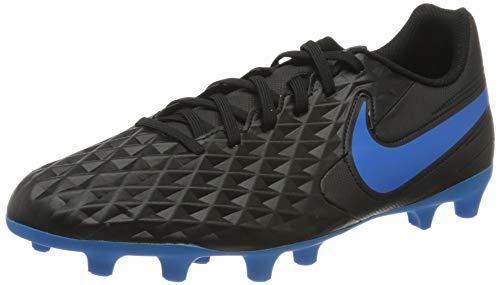 Nike Unisex Legend 8 Club Firm Multi-Ground Fußballschuhe, Mehrfarbig (Black/Blue Hero 4), 47 EU