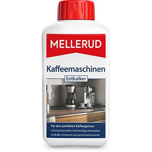 Mellerud Kaffeemaschinen Entkalker – Wirkungsvolles Mittel zur Entkalkung Aller Kaffeemaschinen – 1 x 0,5 l