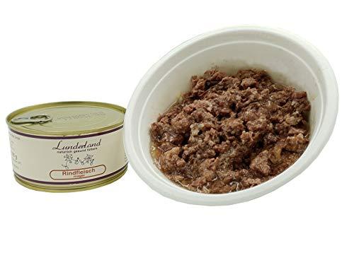 Lunderland-Dosenfleisch-Rindfleisch-mager 5 x 300g Dosen (insg. 1,5kg), Eine ideale Dose für Hunde, die extrem fettarm ernährt Werden müssen