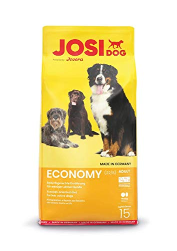 JosiDog Economy (1 x 15 kg)   Hundefutter für ausgewachsene Hunde   Trockenfutter   powered by JOSERA   1er Pack