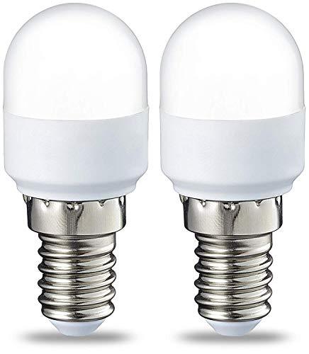Amazon Basics E14 LED Lampe T25, Kühlschranklampe, 1.7 W (ersetzt 15 W), warmweiß, 2er-Pack