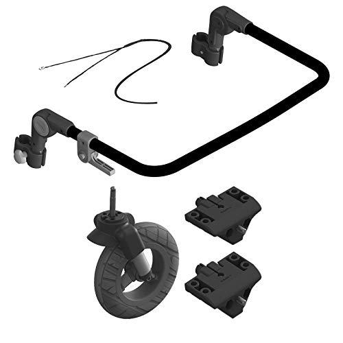 Qeridoo Buggy Set Sportrex1 Basic Kinderfahrradanhänger