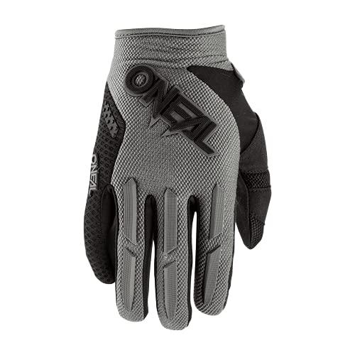 O'NEAL | Fahrrad- & Motocross-Handschuhe | MX MTB Downhill Freeride | Langlebige, Flexible Materialien, luftdurchlässige Mesh-Einsätze | Element Glove | Erwachsene | Grau | Größe M