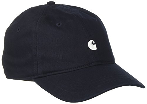 Carhartt Unisex Madison Logo Baseballkappe, Blu (Dark Navy Wax 1C), One Size