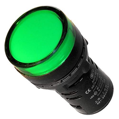 Leuchtmelder grün 230V 22mm Signalleuchte Kontrolleuchte