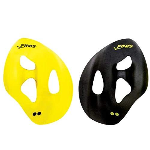 Finis Erwachsene Iso Swim Hand Paddles, Yellow/Black, M