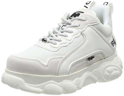 Buffalo Damen Corin Hohe Sneaker, Weiß (White 000), 39 EU