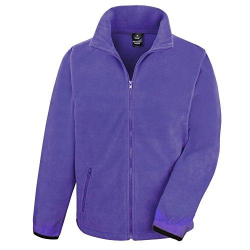 Result Core Herren Fleece-Jacke (XL) (Violett)