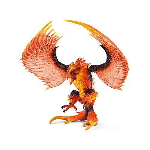 Schleich 42511 Eldrador Creatures Spielfigur - Feueradler, Spielzeug ab 7 Jahren