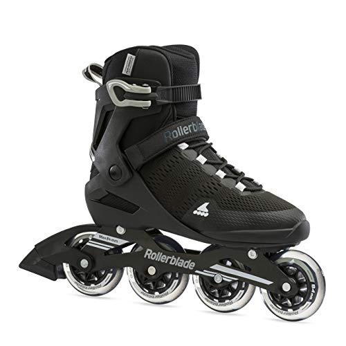 Rollerblade Herren Sirio 84 Inline-Skate, Nero/Bianco, 39 EU