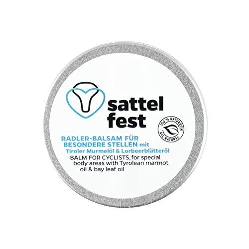 MONTIANA Sattelfest Balsam für Radfahrer   Original Tiroler Radler-Balsam   100% natürlich   Handmade in Austria   25ml