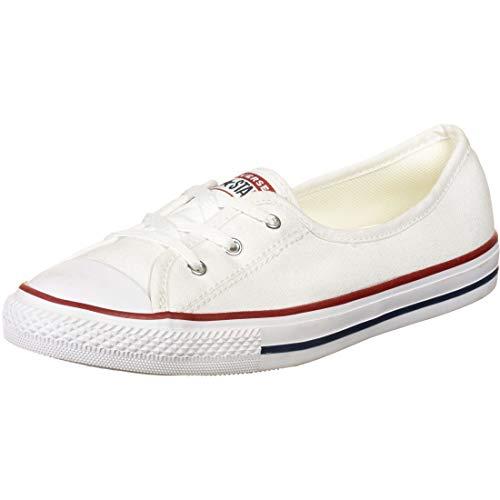 Converse Chucks CTAS Ballet LACE Slip 566774C White, Schuhgröße:39