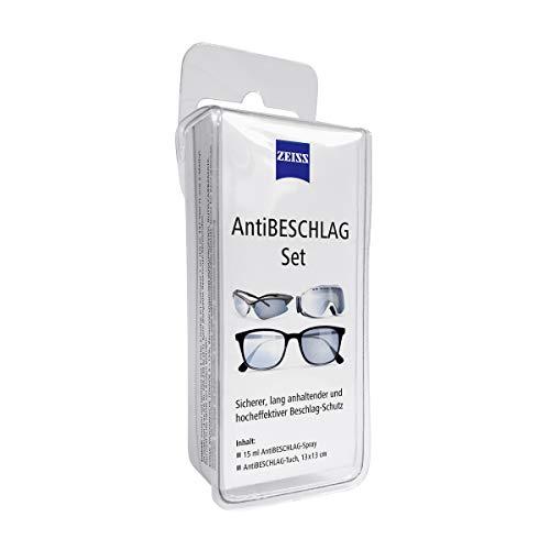 ZEISS AntiBeschlag-Spray mit 15ml Inhalt inklusive einem Brillen-Reinigungstuch für einen lang anhaltenden Beschlagschutz/auch bei hoher Luftfeuchtigkeit