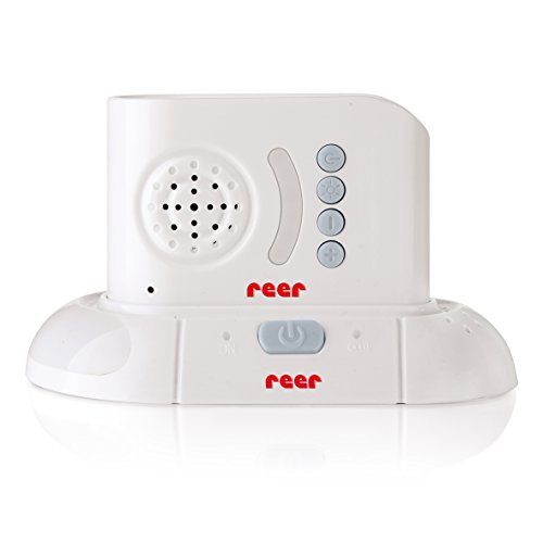 Digitales Weißes Dect Babyphon Reer 9011 Inklusive Gegensprechfunktion, Nachtlicht, 300m Reichweite