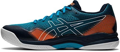 ASICS Herren Gel Hunter 2 Indoor Court Shoe, Teal Blue/French Blue, 45 EU