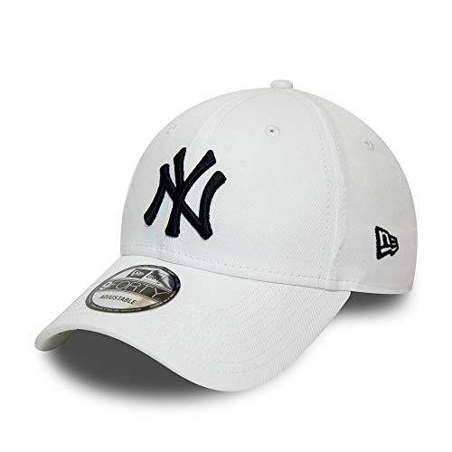 New Era New York Yankees Cap MLB Kinder Kappe verstellbar Baseball Cap Weiss - Child