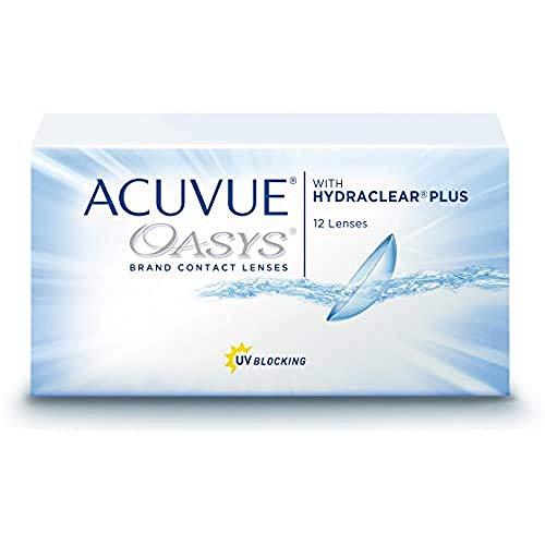 Acuvue Oasys 2-Wochenlinsen weich, 12 Stück / BC 8.4 mm / DIA 14 / -2.75 Dioptrien