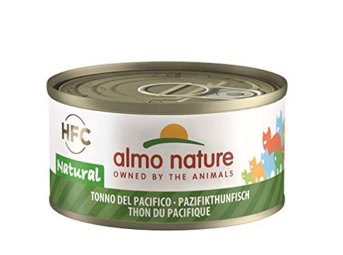 Almo Nature HFC Natural Katzenfutter nass -Pazifikthunfisch 24er Pack (24 x 70g)